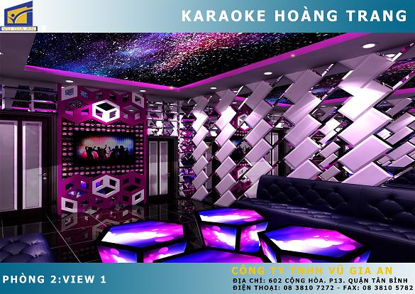 Karaoke Hoàng Trang - Dầu Giây
